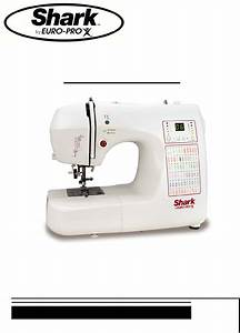 Shark Sewing Machine 9015 User Guide