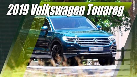 vw touareg revealed  full youtube