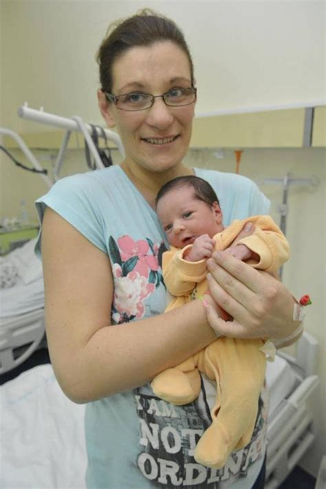 Sweet Little Lucija Is The First Baby Born In 2017 Just
