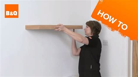 How To Put Up A Floating Shelf Youtube
