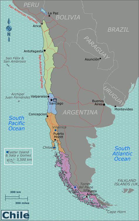 Ģeogrāfiskā karte - Čīle - 3,000 x 4,770 Pikselis - 1.94 ...