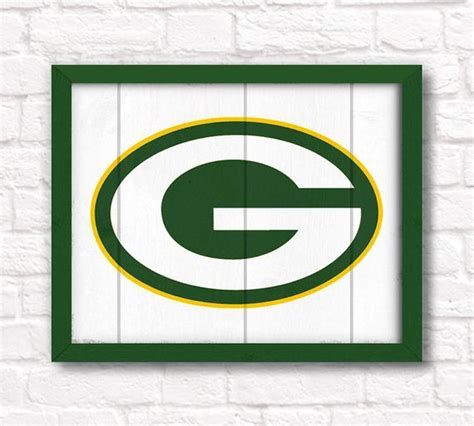 packers decor green bay packers home decor boys room or cave rustic