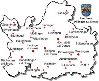 guide to bavaria landkreis dillingen