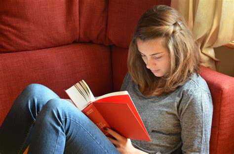 Free Images  Hand, Book, Novel, Read, Person, Girl, Reading, Red, Youth, Sitting, Student, Rest
