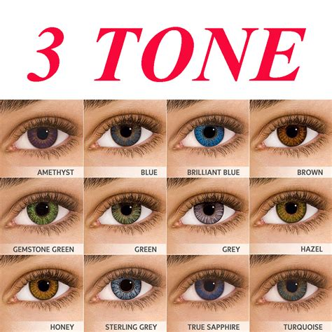 color contacts best seller color blending fresh color contact lens 13