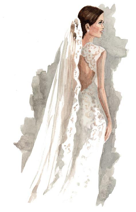 Fashion Illustrations Carine's Bridal Atelier