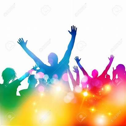 Festival Clipart Crowd Concert