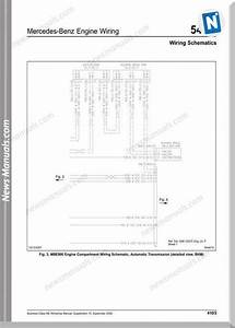 Mercedes Benz E Class Engine Wiring Diagram 2006