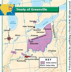 28. Treaty of Greenville, 1796. | The Federalist Period ...