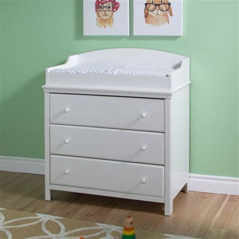 south shore changing table south shore cotton candy changing table with drawers