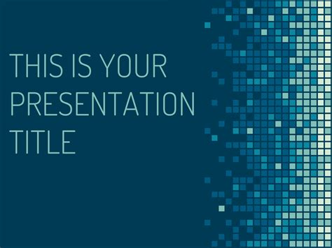 Slides Template Free Technology Powerpoint Template Or Slides Theme