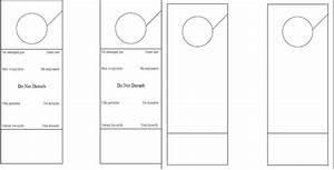 Do not disturb template door hanger door hanger templates for Free do not disturb door hanger template