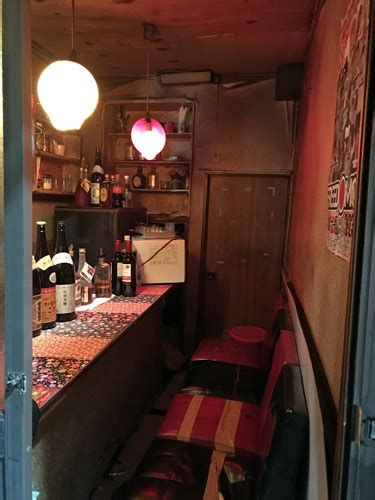 Tiny Bar by Tiny Bars Of Golden Gai In Shinjuku Tokyo Japan