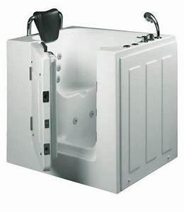 Sitzbadewanne Mit Dusche : senioren dusche sitzbadewanne sitzwanne badewanne mit t r pool a102d online kaufen ~ Watch28wear.com Haus und Dekorationen