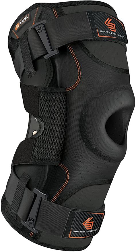 Hinged Knee Brace: Shock Doctor Maximum Support ...