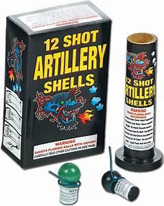 12 Shot Artillery Shell