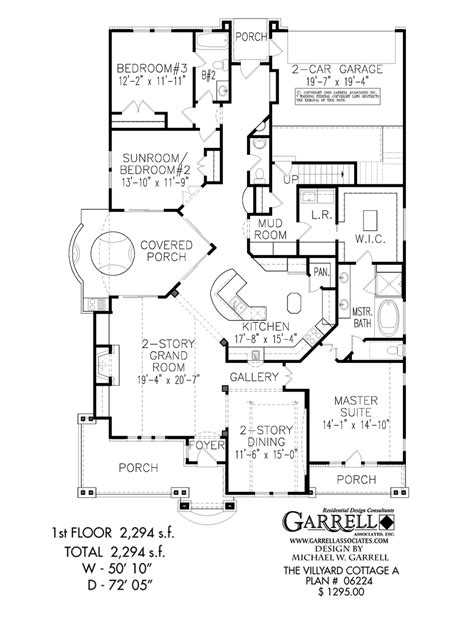 floor plans of a house villyard cottage a house plan active house plans