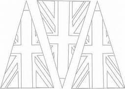 free union jack flags coloring pages