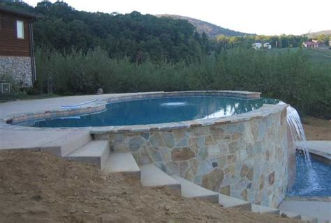 Above Ground Pool On Sloped Yard