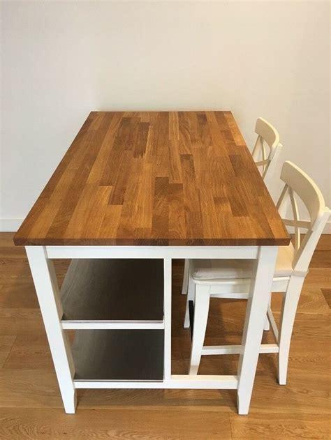 tornviken kitchen island  white oak length
