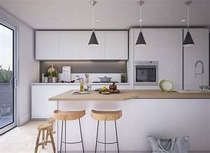 50 Foto Di Cucine Bianche E Legno Dal Design Moderno