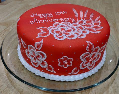 anniversary cake images 10th anniversary cake