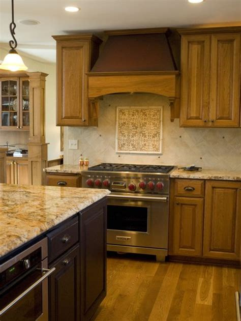 how to install kitchen island colonial gold granite countertops ideas pictures remodel 7263