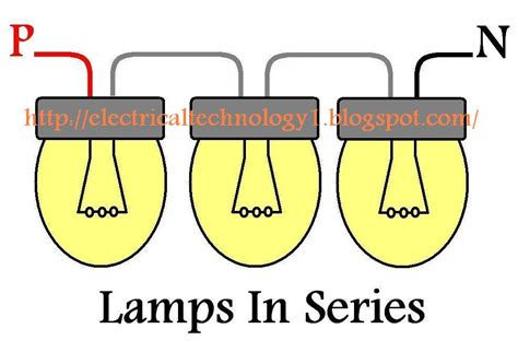 How Wire Lights Series Electrical Technology