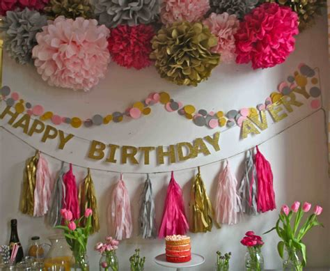 First Birthday Home Decoration Ideas Lovely Birthday Room Christmas Paper Craft Projects Cork Crafts For Children's Ideas With Burlap Of Tree Easy Child Template Childrens
