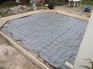 terrasse en beton couler une dalle b ton pictures With couler une dalle de terrasse