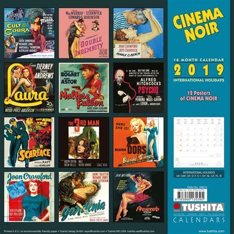 cinema noir calendars ukpostersukposters