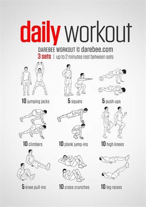 simple  equipment workout   day