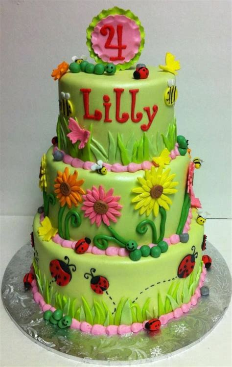 images  kids birthday cakes  lily cakes