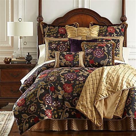 austin horn bedding horn classics escapade reversible comforter set in black bed bath beyond
