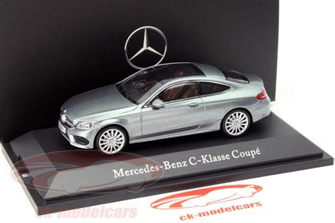 Mercedes offers three body styles all with a c on their trunklids. Kyosho 1:43 Mercedes-Benz C-Class (C205) Coupe selenite Grey B66960530 model car B66960530