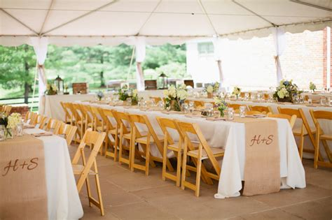 Loudoun County Farm Wedding Reception