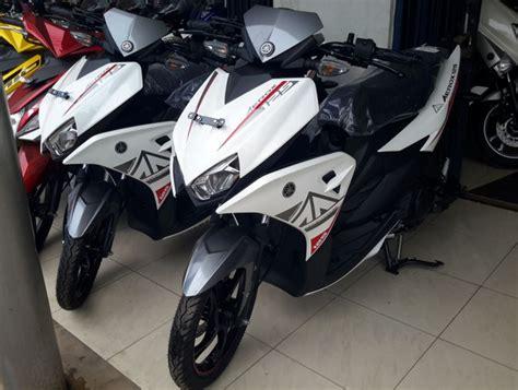 Modifikasi Aerox Warna Putih by Inilah Penakan Dan Info Harga Yamaha Aerox 125