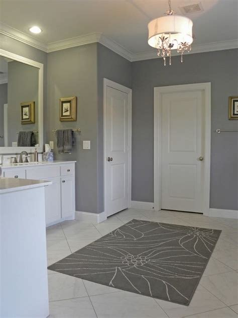 bathroom wall color ideas in gray for the home pinterest