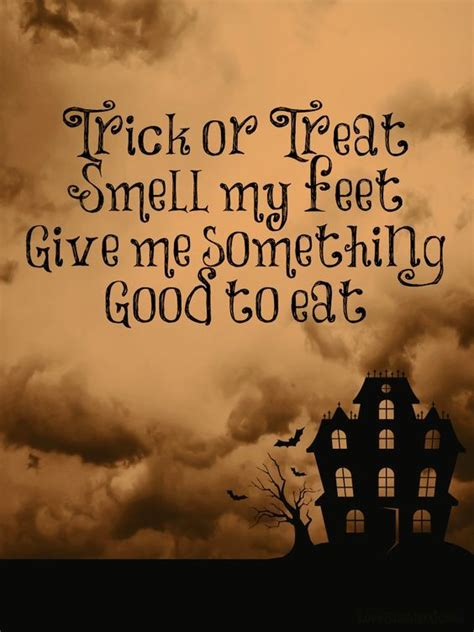 trick  treat smell  feet pictures   images