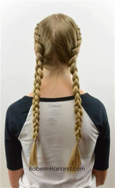 tight dutch braids   babes  hairland