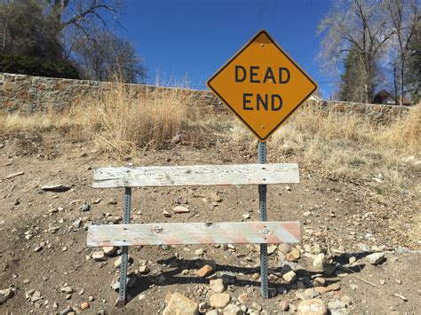 File:2015-03-25 13 25 53 Barrier and Dead End sign at an ...