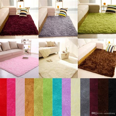 fluffy area rugs fluffy rugs anti skid shaggy area rug dining room home