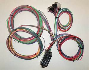 12 Circuit Ez Mini Fuse Wiring Harness Chevy Ford Hotrods