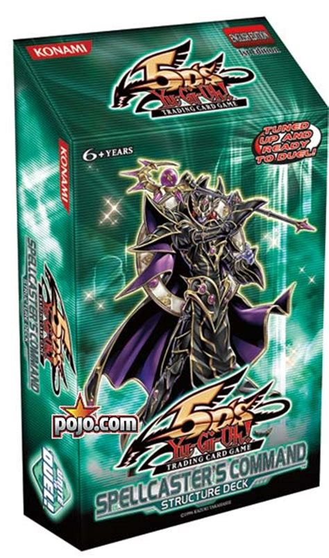 Yugioh Structure Deck List by Yu Gi Oh 5d S Spellcaster S Command Structure Deck