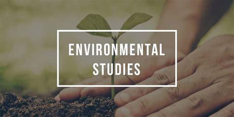 major  environmental studies environmental studies