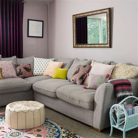 Living Room Wallpaper Lilac by Grey And Mauve Living Room New Wallpapers