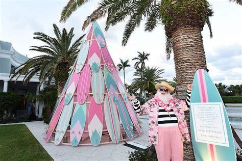 fun tropical christmas decorations  inspire  florida