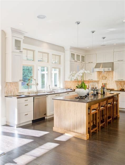 kitchen cabinets in bathroom greenbrier beige living room transitional with built in 19007