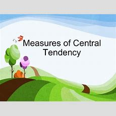 Thiyagu Measures Of Central Tendency Final