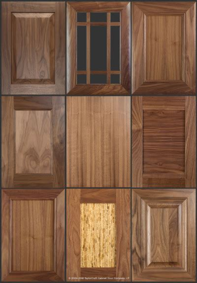 walnut kitchen cabinet doors walnut cabinet doors and kitchen cabinets taylorcraft 6992